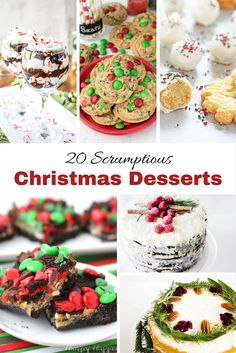 One of the best things about the holidays are the wonderful treats that are part of it! I have a list of wonderful treats for you to add your holiday festiviites. Gingerbread Cake from FleeceFun.com Christmas Dessert: Chocolate Raspberry Cake from monpetitfour.com Chocolate Prune Bundt Cake With Coconut Glaze from frombraziltoyou.org Brigaderio Brazil Chocolate Fudge Truffles from frombraziltoyou.org Peanut Butter Cookie Butter Cookies from FleeceFun.com Last Minute Christmas Dessert from…