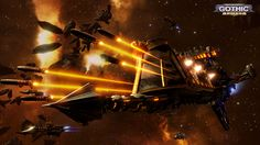 Battlefleet Gothic: Armada is the RTS adaptation for PC of Games Workshop's tabletop game, staging the deadly space battles of Warhammer Battlefleet Gothic Armada, Tau Empire, Rogue Traders, 40k Terrain, Space Battles, Far Future, Warhammer 40k Art, Spaceship Concept, Game Workshop