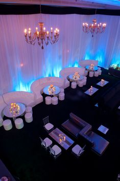 anniversary party with exquisite events at the montage beverly hills. Corporate events and party ideas Wedding Reception Seating, Wedding Lounge, Wedding Table, Party Decoration, Wedding Decorations, Decor Wedding, Salas Lounge, Bar Deco, Nightclub Design