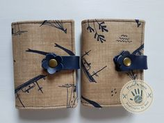 Fair wind card holder by ManoFactured on Etsy