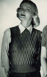 Sleeveless Pullover Pattern No. 5327