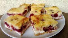 Retrográd: Lusta asszony túrós-meggyes süteménye Food To Make, French Toast, Muffin, Food And Drink, Breakfast, Sweet, Cukor, Recipes, Drinks