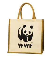 Our strong and durable WWF® Jute Bag is made from 100% Indian jute. Natural jute is completely biodegradable and compostable, with a low environmental footprint. Jute agricultural practices are environmnetally sound, having minimal impact on our planet.