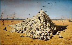 Апофеоз войны :: Верещагин Василий Васильевич, 1871 год
