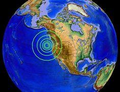 6/01/2015 -- Large 5.8 magnitude Earthquake strikes West Coast -- Oregon...