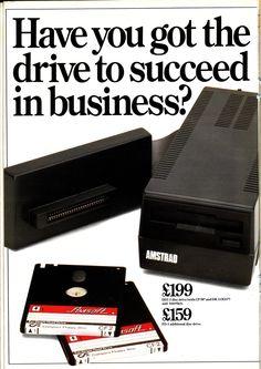 Amstrad DDI-1 3'' Disc Drive & Interface (1985)