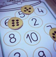 FICHA GRATIS bilingüe números #numeros #matematicas #infantil #maestra #educacion #recursos #preescolar #preschool #numbers #counting #kids #kinder