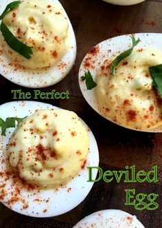 Perfect Deviled Eggs -- Fast, easy, and healthy! | Three Olives Branch