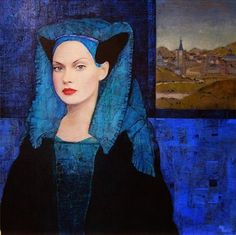 Queridísmos amigos, hoy os traigo los trabajos del pintor francés Richard Burlet , hay en sus obras una mezcla preciosista de ornam...