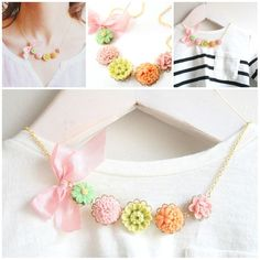 Candy eye necklaces