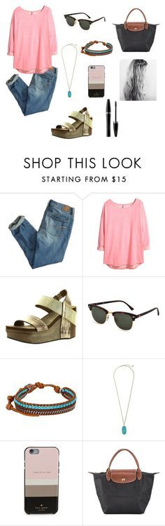 """""""❤️Jeremiah 29:11❤️"""" by apemb ❤ liked on Polyvore featuring moda, American Eagle Outfitters, H&M, OTBT, Ray-Ban, Chan Luu, Kendra Scott, Kate Spade, Longchamp y Mary Kay"""