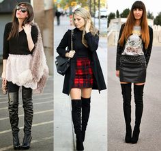 Projeto In or Out? Tendência Botas Over the Knee
