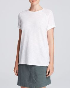 Vince Tee - Rolled Sleeve Crew
