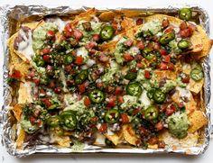 bandejas de nachos