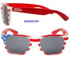 Monogrammed America Sunglasses