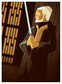 obi-wan kenobi commission by *strongstuff on deviantART