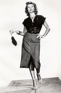 Rita Hayworth in  Miss Sadie Thompson, 1953