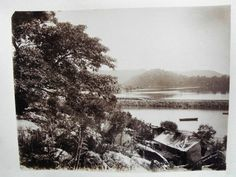 Sackville Reach, Hawkesbury River photograph by King and Kerry c1880