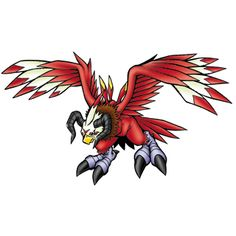 "Aquilamon - ""Great Eagle of the Desert"", Champion level Giant Bird digimon"