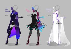 Outfit design - 296 - 268 - ends in 3 hours!! by LotusLumino on DeviantArt                                                                                                                                                      More