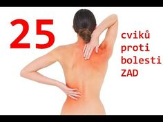 25 cviků pro odstranění bolesti zad - páteře - YouTube Knee Exercises, Stretching Exercises, Training Programs, Workout Programs, Body Fitness, Health Fitness, Back Pain Relief, Fit Motivation, Sciatica