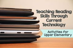 It seems now, more than ever, students' attention levels are harder to maintain in the classroom. Here is a great blog post on how to teach reading skills through current technology activities.: