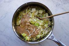 Vegan Gado gado met tofu en sate saus