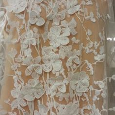 fine quality lace fabric multi floral lace fabric heavy embroidered mix colors for bridal dress costume dress sewing accessories