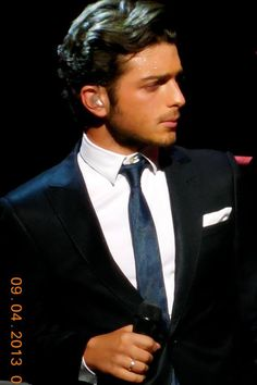 Oh I don't think I need to describe him...one name is enough...Gianluca! IL VOLO