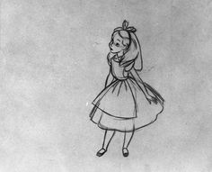 alice in wonderland drawings disney - Google Search