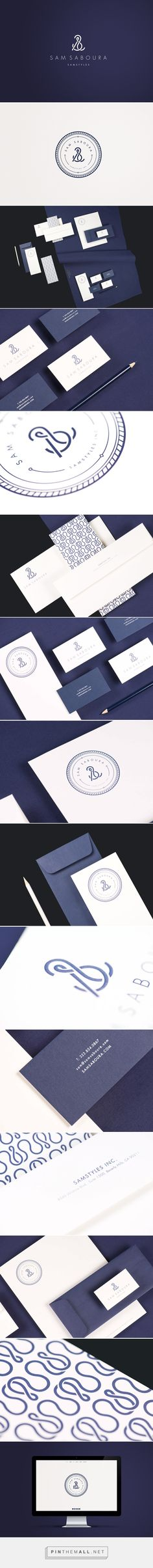 Sam Saboura on Behance. - a grouped images picture - Pin…品牌 标志 Design Typo, Brand Identity Design, Graphic Design Branding, Corporate Design, Corporate Identity, Business Branding, Visual Identity, Business Card Design, Logo Branding