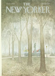 The New Yorker - Monday, October 3, 1977 - Issue # 2746 - Vol. 53 - N° 33 - Cover by : Charles E. Martin