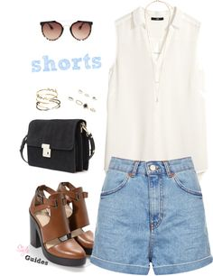 Denim Shorts Look
