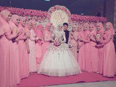 Muslim wedding in Thailand