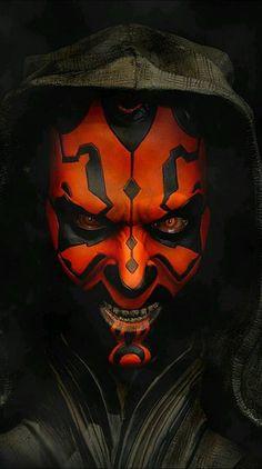 Darth Maul l Star Wars Star Wars Sith, Clone Wars, Star Trek, Dark Maul, Darth Maul Wallpaper, Star Wars Wallpaper, Images Star Wars, Wolf, Jedi Sith