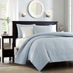 jcpenney - Royal Velvet® 400tc Damask Stripe Egyptian Cotton Comforter Set & Accessories - jcpenney
