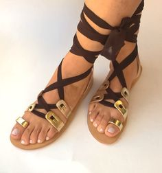 leather sandals,gladiator sandals,womens shoes,womens sandals,greek sandals,gifts,strappy sandals,shoes,handmade sandals by chicbelledejour on Etsy