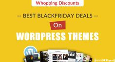 Best CyberMonday Deals On WordPress Themes- Whopping Discounts  https://www.shoutmeloud.com/blackfriday-deals-wordpress-themes.html
