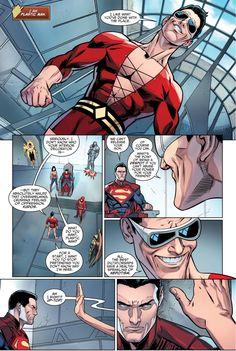 [Comic Excerpt] Injustice: Year Plastic man is terrifying. Dc Comics, Comic Art, Comic Books, Plastic Man, Comics Universe, Marvel Dc, Spiderman, Novels, Geek Stuff