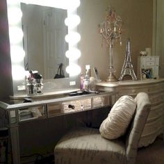 SO glam and classy! #makeup #vanity