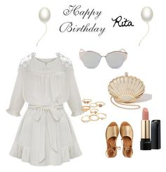 """""""Happy birthday Rita"""" by luisa-cunha on Polyvore"""