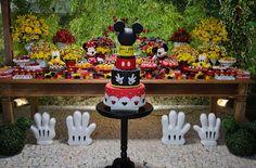 Encontrando Ideias: Festa da Minnie e Mickey!!!