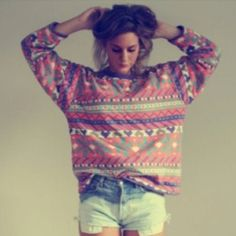 large sweaters :)