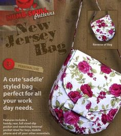 New Jersey Bag PDF Sewing Pattern ⌇ from Numb Skull Patterns ☠