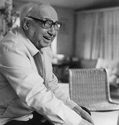 German architect Sergius Ruegenberg (1903-1996).  Ruegenberg worked with Mies van der Rohe from 1925-1934 and was partially responsible for the design of the Barcelona Pavilion and the Barcelona chair.  He was also involved in the design of the Tugendhat Villa in Brno and other seminal Mies buildings.  Later he worked with Hans Scharoun, whose approach he preferred to Mies'. #BarcelonaChair
