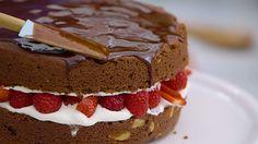 Favoriete chocolade taart