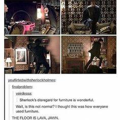 I use furniture like that