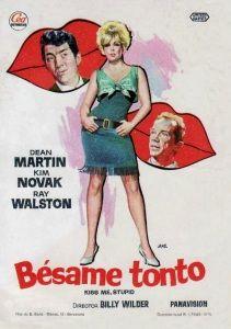 Bésame Tonto(Kiss Me, Stupid,1964) Vista el10-sep-16
