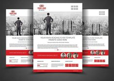 Website Design Agency Flyer Template by AfzaalGraphics on @creativemarket
