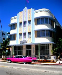 Marlin Hotel, Miami Beach, Florida.  Please take me here, and buy me that car :)